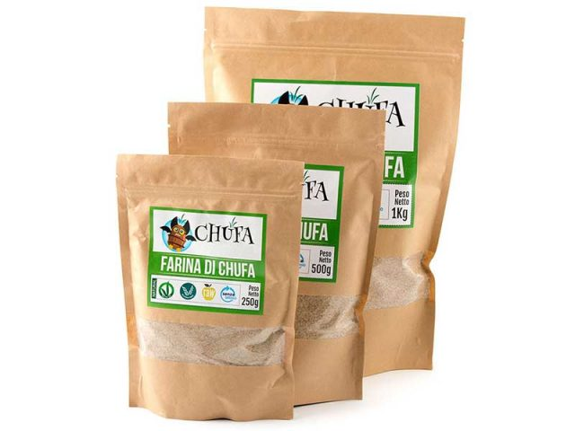 Gamma completa farina di Chufa Rustica
