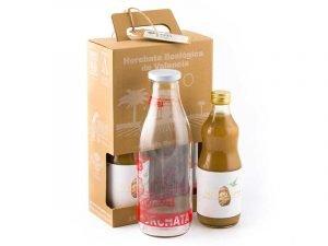 Horchata y la botella