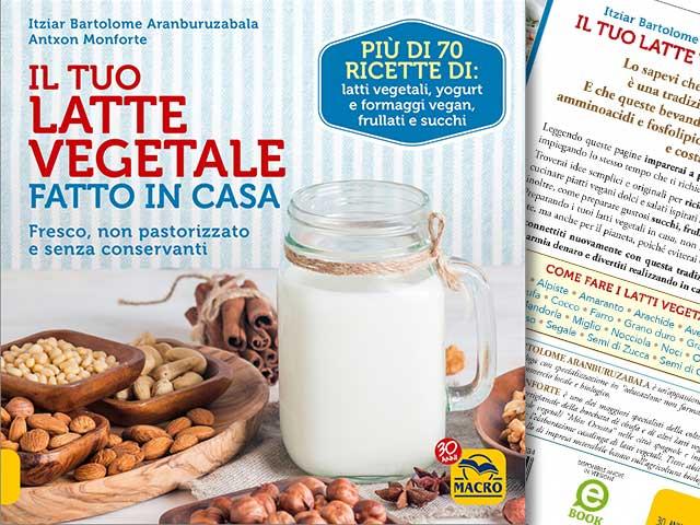 Il tuo latte vegetale fatto in casa 70 ricette