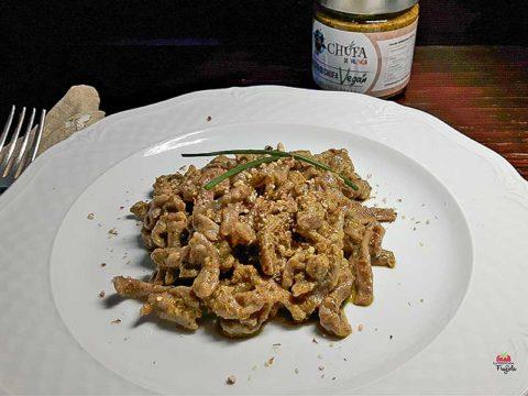 Tagliatelle, pasta fresca con farina di Chufa